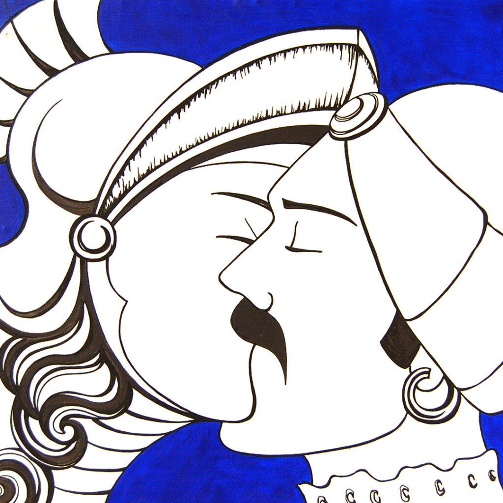 Opera Bacio Alice Valenti