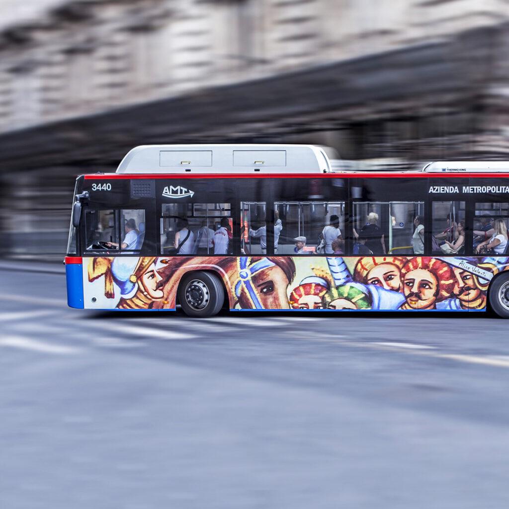 Opera Street art bus Catania Alice Valenti